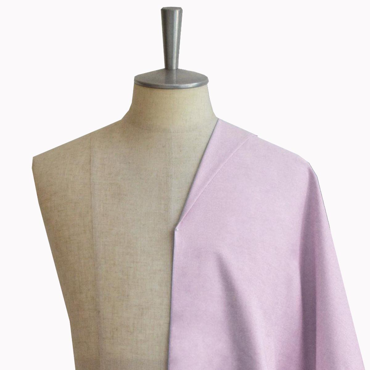 [オーダーシャツ]【Stretch】華やかなピンク、スーピマコットンを使ったオクスフォード生地