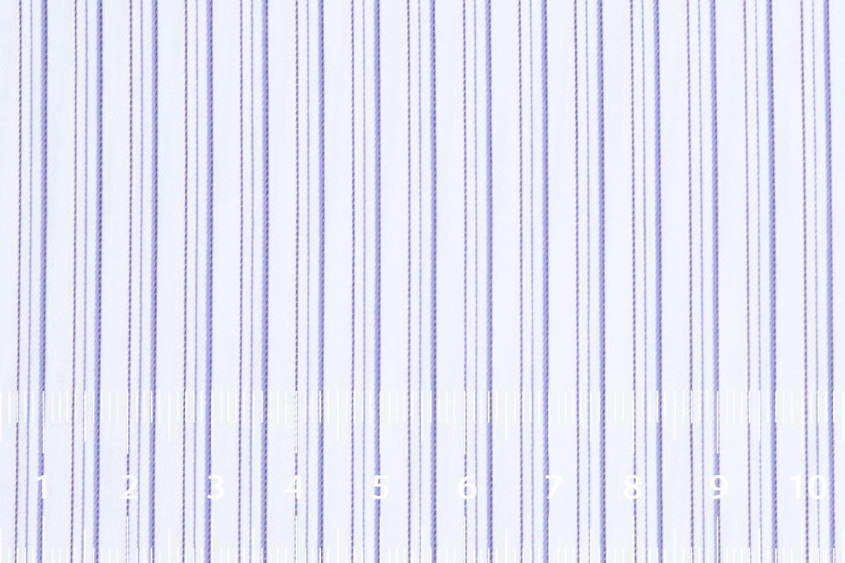 [オーダーシャツ]【Ermenegildo Zegna】細見効果抜群のストライプ