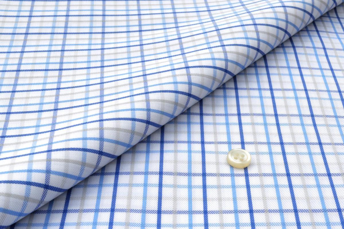 [オーダーシャツ]【播州織】光沢感と柔らかい肌触りが特徴!