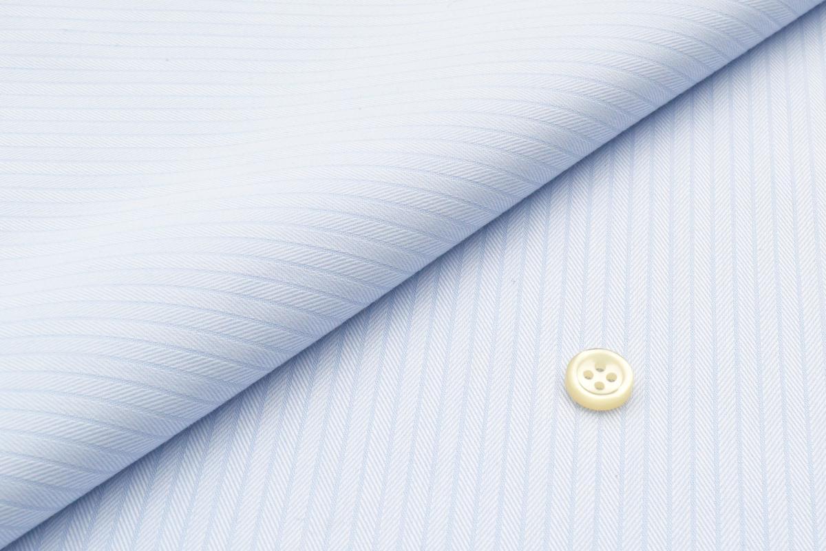 [オーダーシャツ]忙しいあなたのために~お手入れ簡単・形態安定シャツ