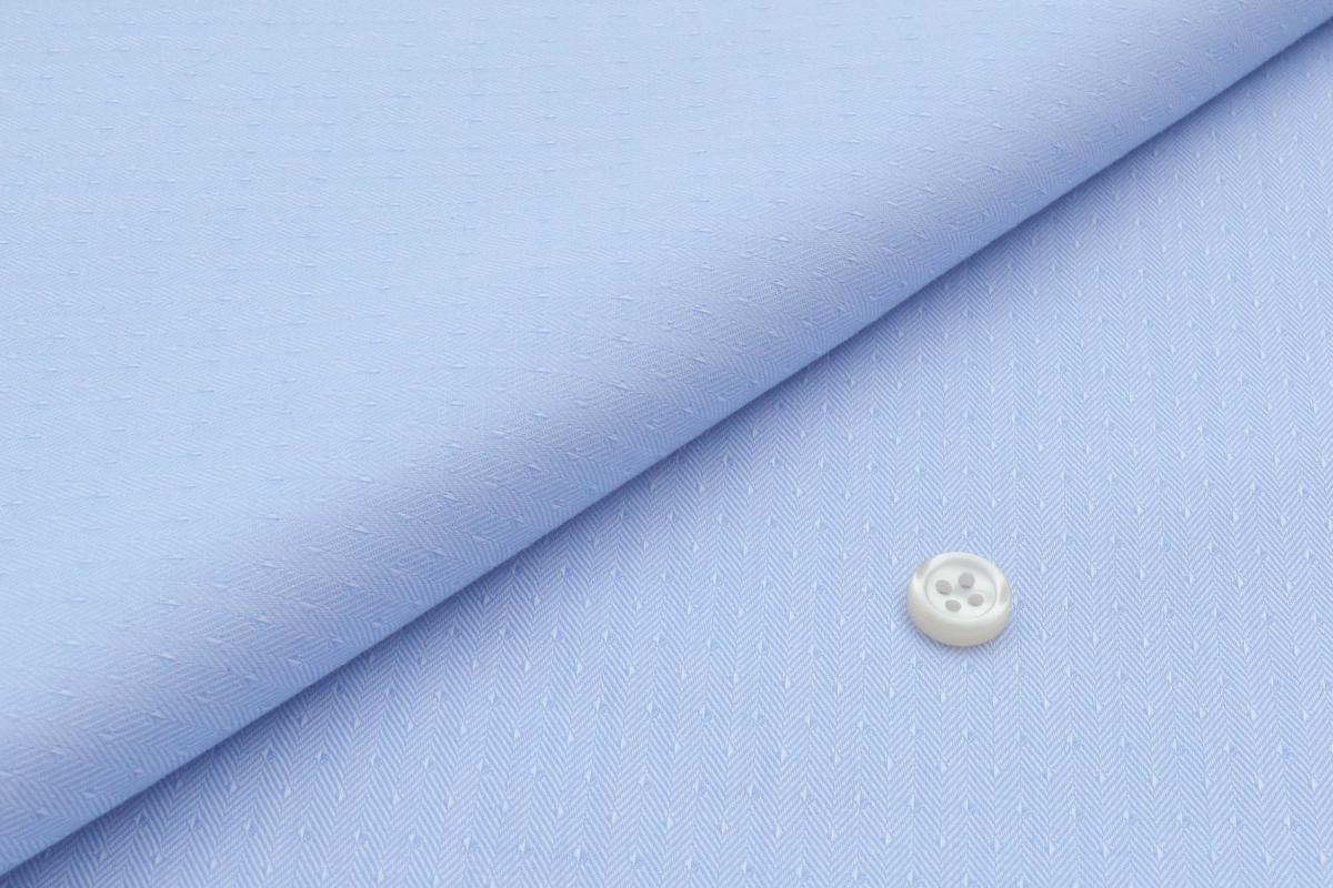 [オーダーシャツ]【形態安定】ヘリンボーンでワンランク上のおしゃれを