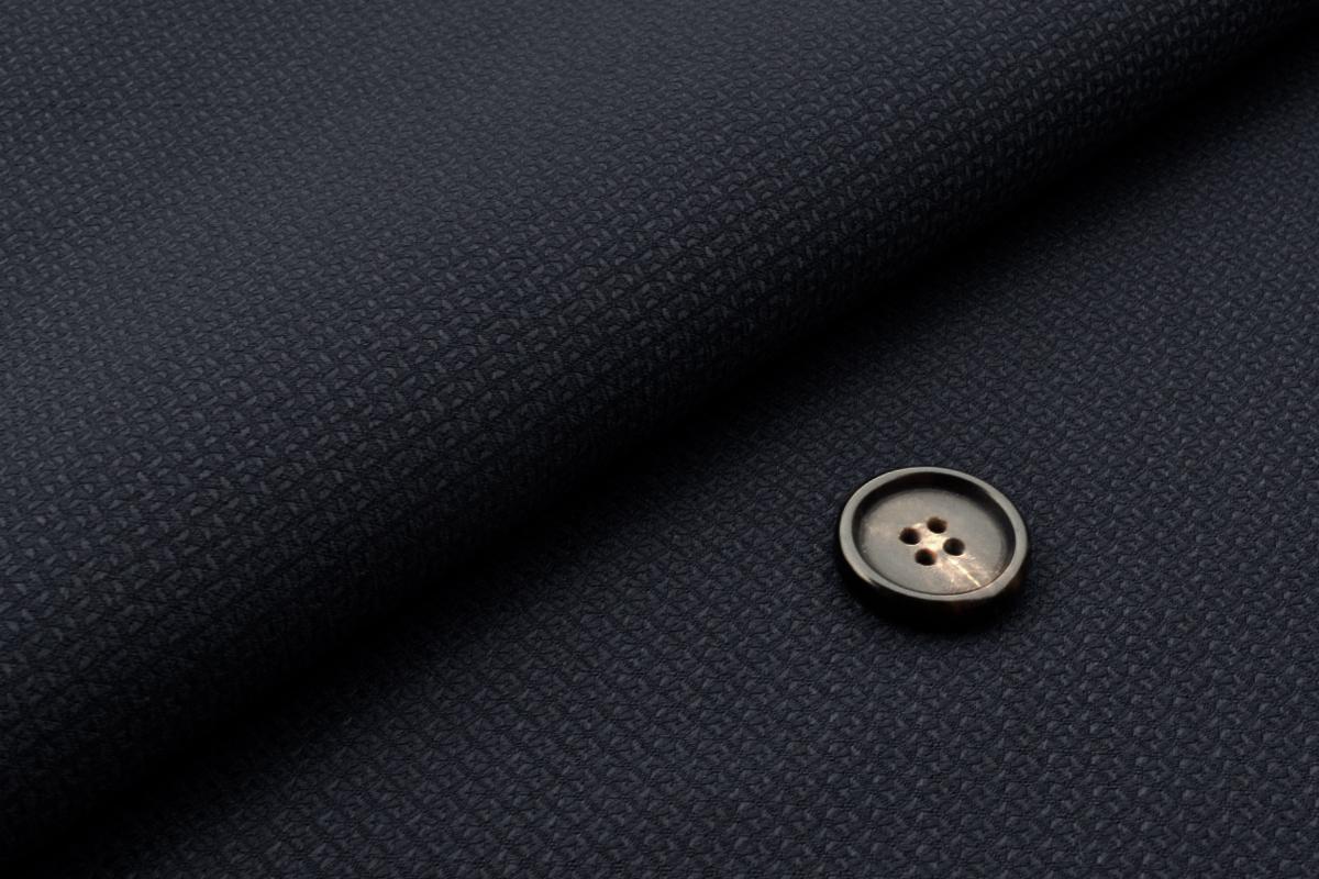 [オーダーレディーススーツ スカートセット]【CANONICO】ジオメトリック風の織柄でエレガントな一着を