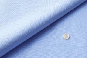 [オーダーシャツ]【イージーケア】爽やかブルーですっきりスマートに。