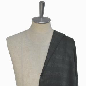 [オーダーレディーススーツ スカートセット]【CANONICO】グレンチェックで上品にな着こなしを