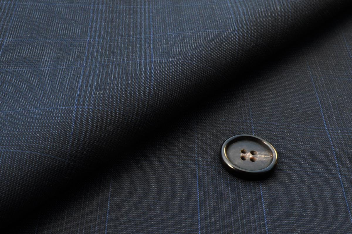 [オーダーレディースジャケット]【CANONICO】グレンチェックで上品にな着こなしを