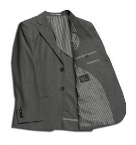 [オーダーレディーススーツ スカートセット]【清涼素材×グレー無地】夏のビジネスを応援します!