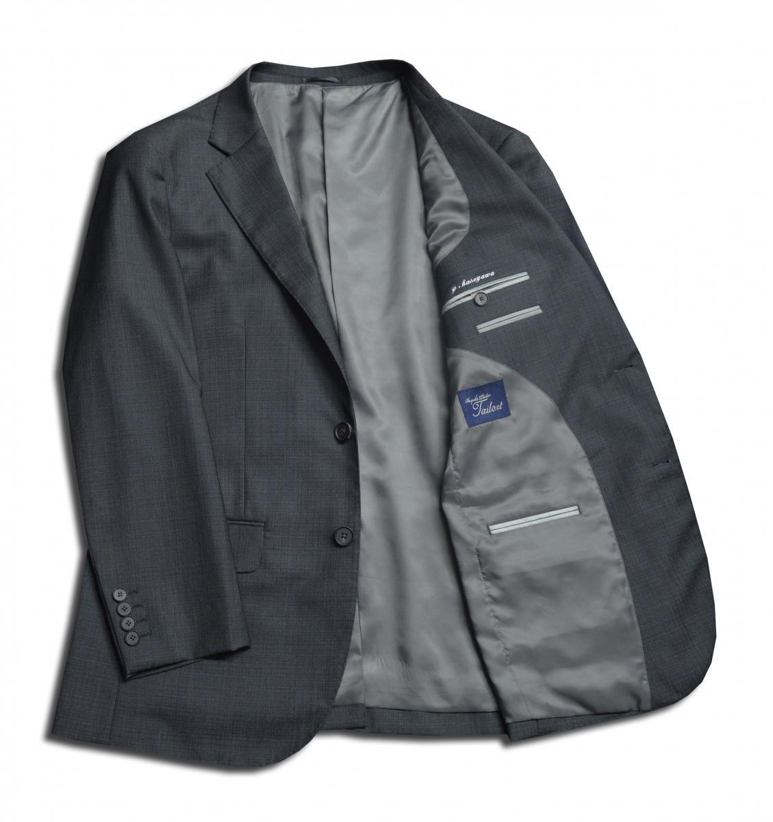 [オーダースーツ]定番中の定番カラーで、この一着があれば安心