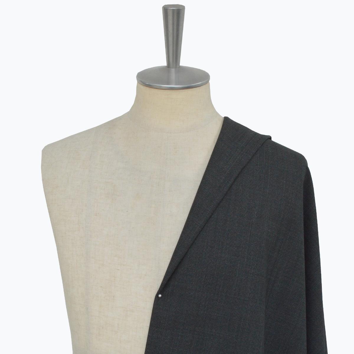 [オーダースーツ]無地スーツに飽きた人は必見、次はグレンチェック柄!