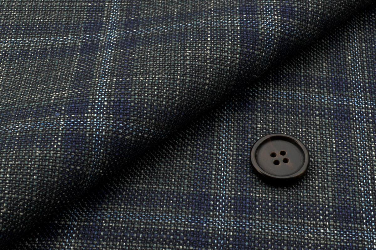 [オーダーレディースジャケット]独特な色合いのチェック柄であなたの個性が引き立つ