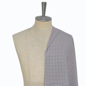 [オーダーシャツ]【形態安定】ブラウン×チェック柄でお洒落にコーデ