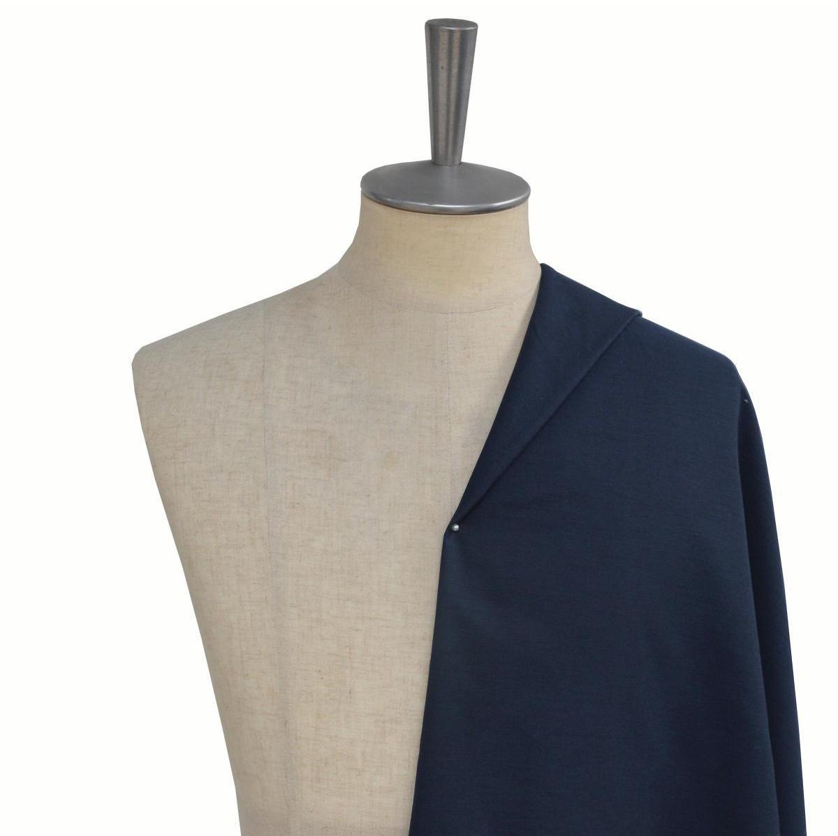 [オーダーシャツ]【形態安定】ネイビーカラーで上半身をすっきりと見せたい方へ