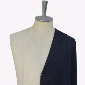 [オーダースーツ]まるで手で縫ったようなピンストライプがオシャレ!