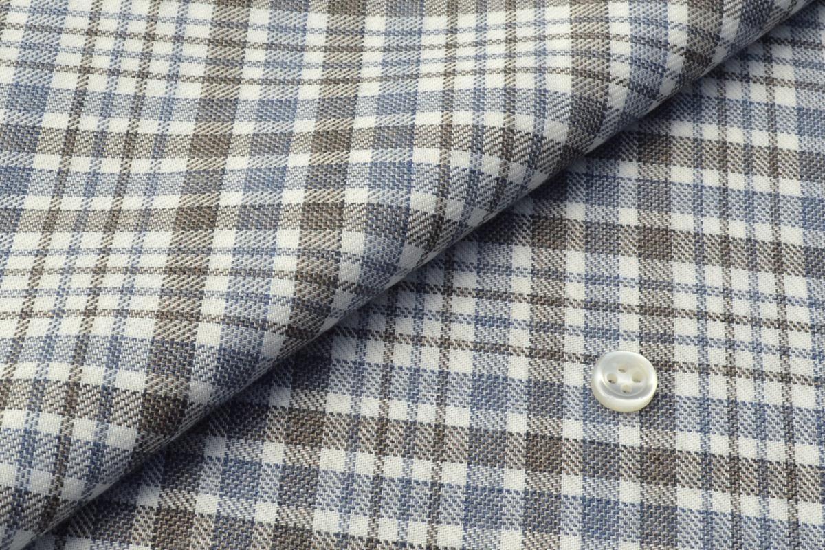 [オーダーシャツ]お洒落なチェック柄が印象的、オフの日のシャツとしてもピッタリ!