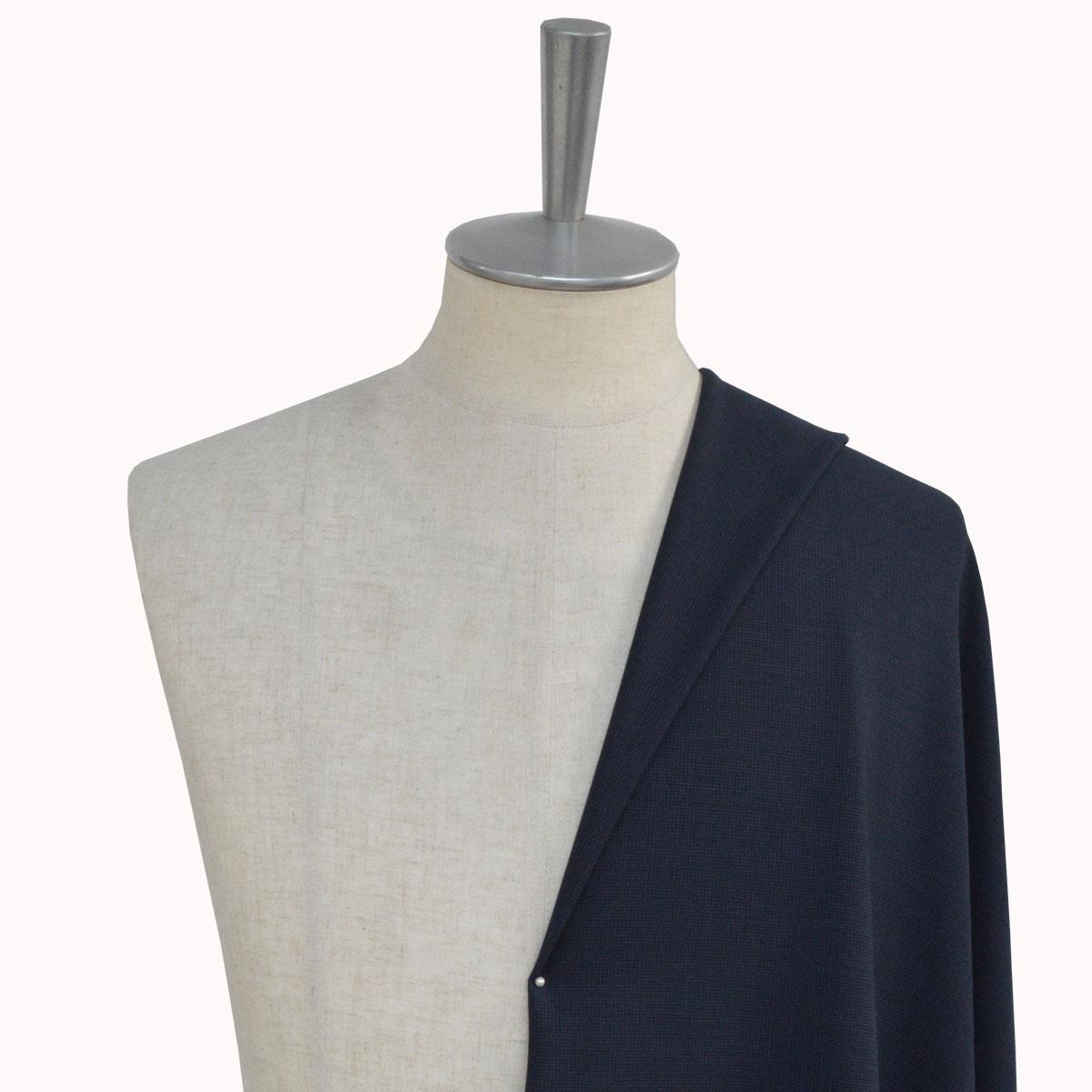 [オーダーレディーススーツ スカートセット]【COOL MAX】夏に一押しの涼しいネイビースーツ!