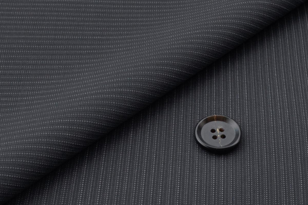 [オーダーレディーススーツ スカートセット]ドットストライプ柄でより上品に、大人の余裕を。