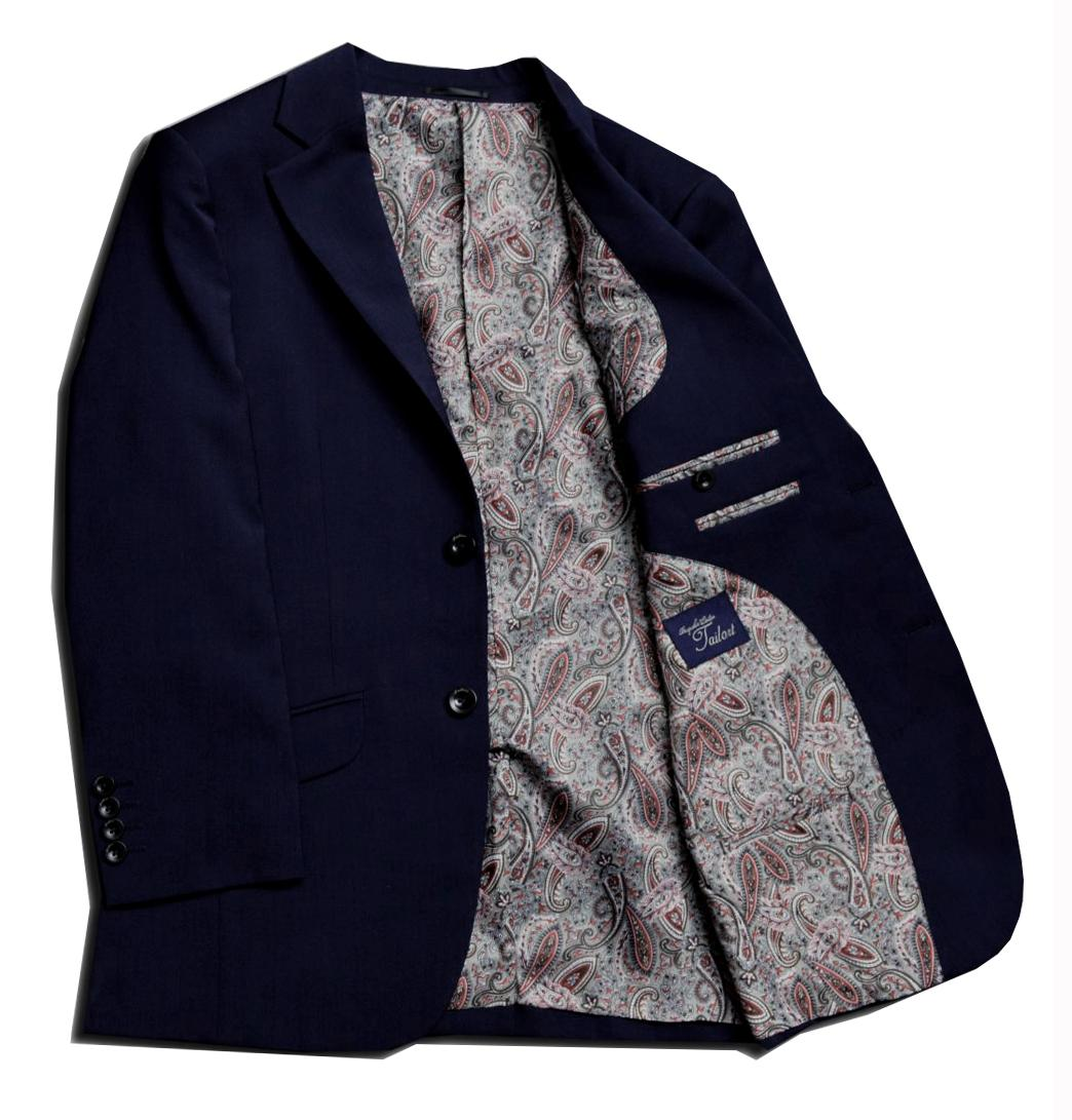 [オーダースーツ]定番のネイビースーツを着心地で選ぶならコレ!