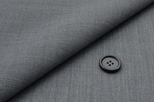[オーダーレディーススーツ スカートセット]ストレッチ×ライトグレーで明るくアクティブに!