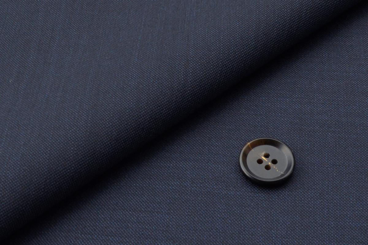 [オーダーレディーススーツ スカートセット]迷ったらコレ!柔らかい風合いのネイビー無地