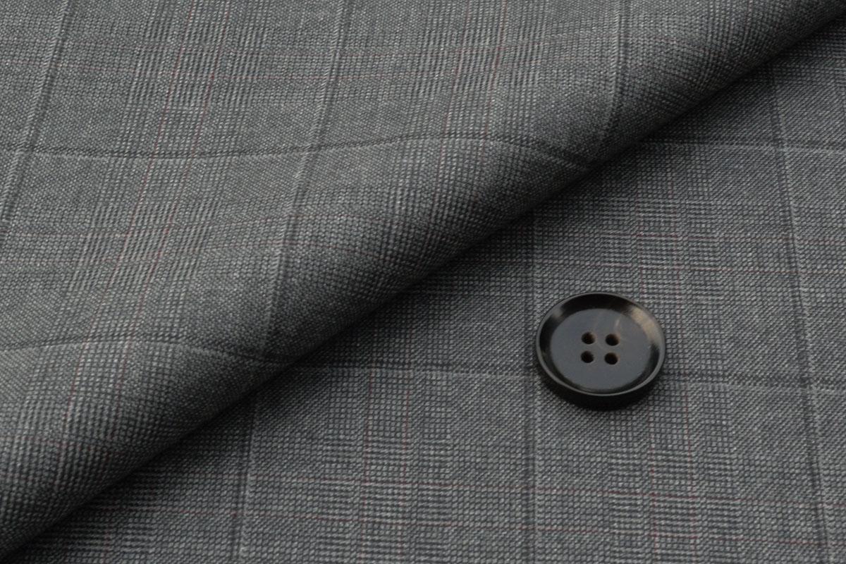 [オーダーレディーススーツ スカートセット]気品を感じさせるチェック柄が印象的!