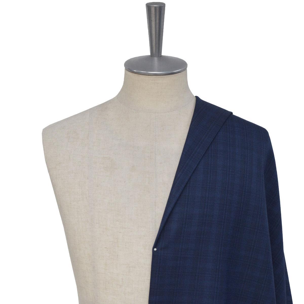 [オーダーレディーススーツ スカートセット]見ればすぐに違いが分かる、ウール×シルク混生地!