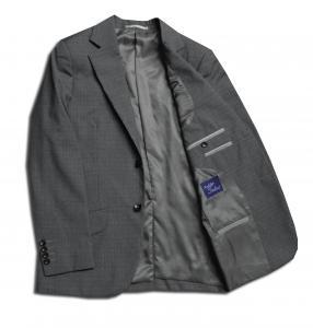 [オーダージャケット]グレー×チェック柄で、落ち着いた男性の魅力を。