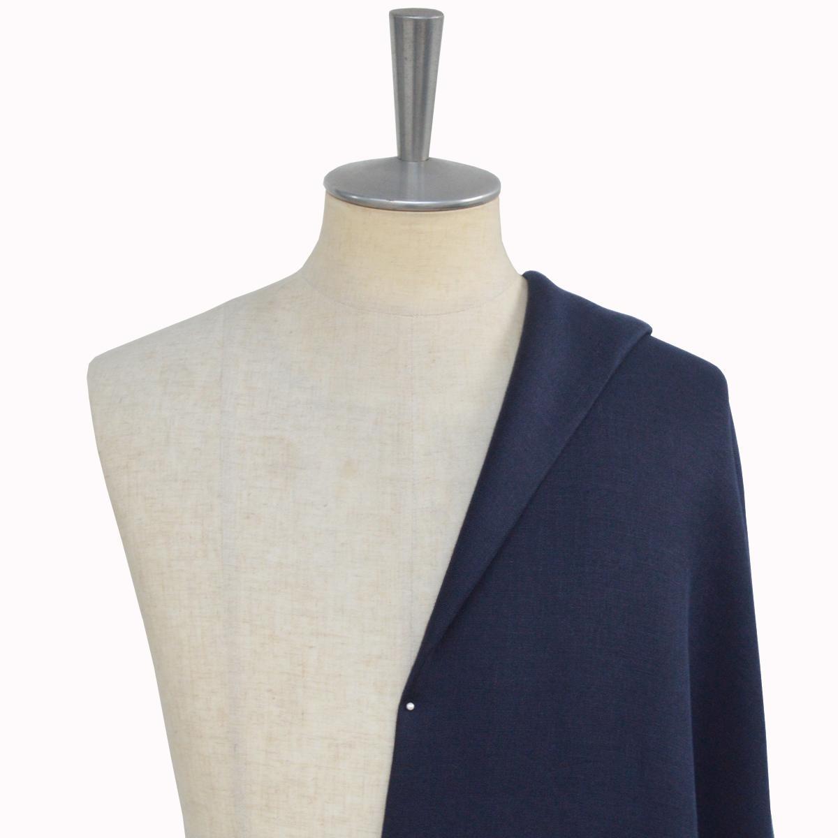 [オーダーレディーススーツ スカートセット]爽やかなネイビースーツでお洒落をコーデ!