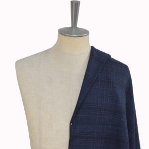 [オーダーコート]【ネイビー×チェック】 冬もこの一着で暖かく安心!