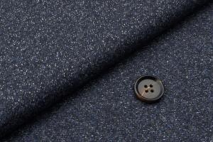[オーダーレディーススーツ スカートセット]深めのネイビー色でダンディ度アップ!