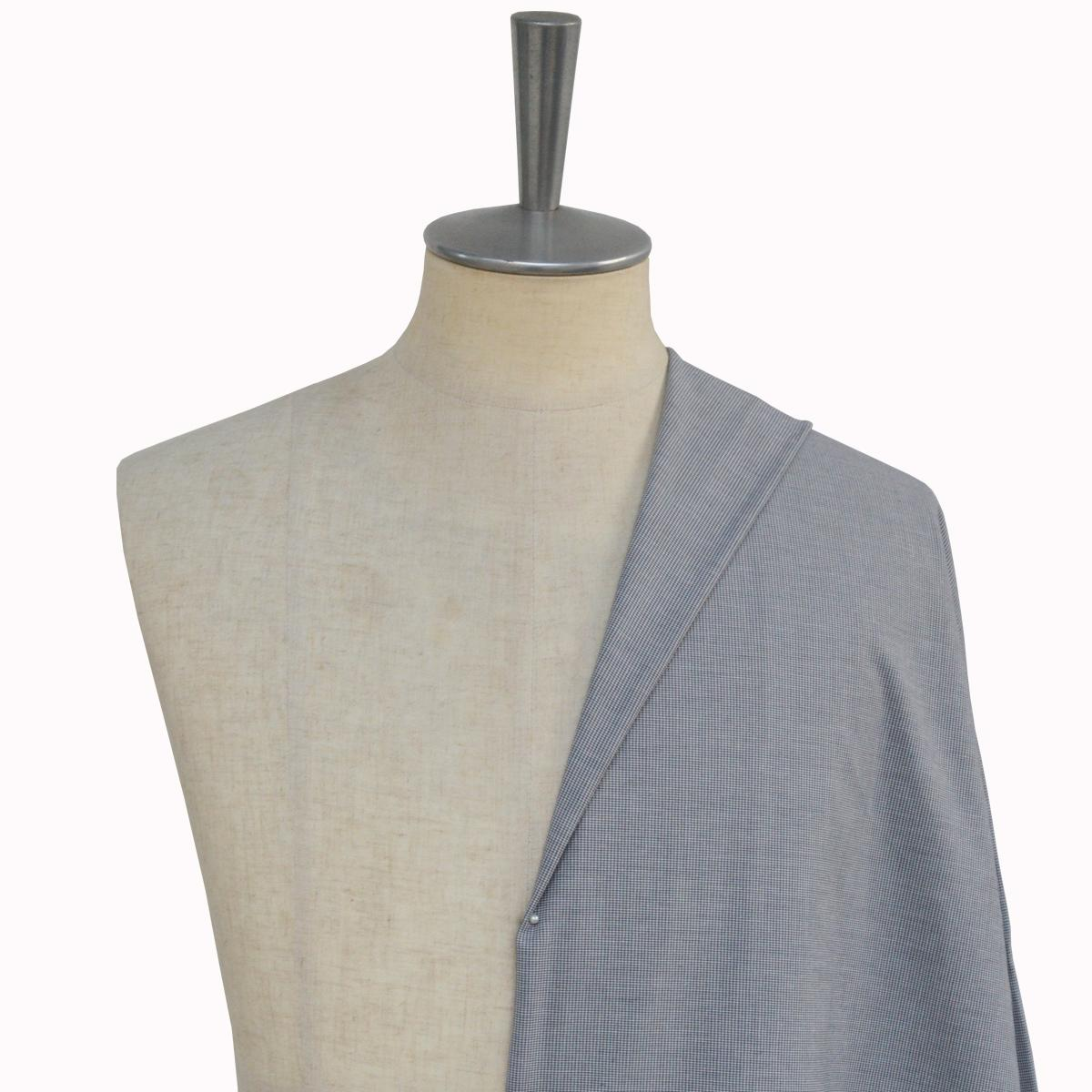[オーダーレディーススーツ スカートセット]クールビズにおススメ!ピンチェック柄で上品に!