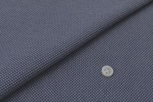[オーダーシャツ]ブルーの爽やかさ×ニットの着心地の良さをお届け