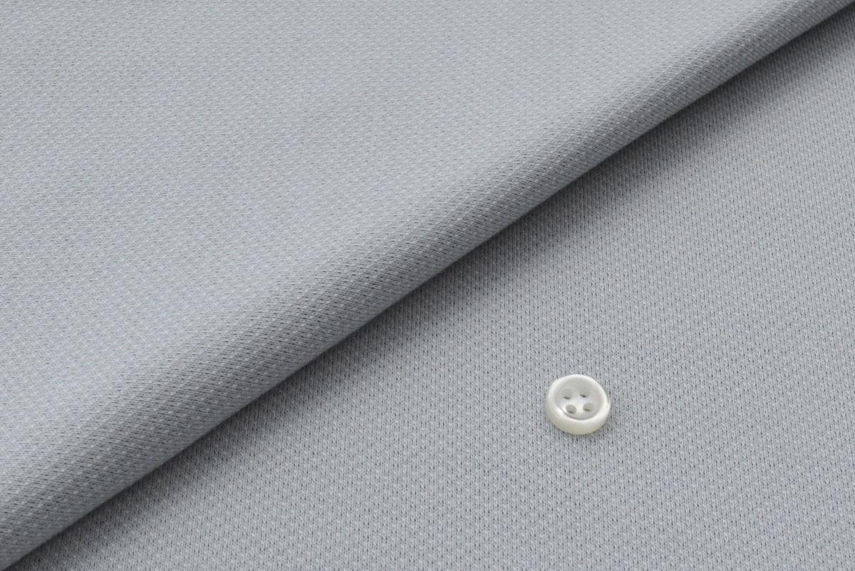 [オーダーシャツ]ニット素材ならではの抜群の着心地を。