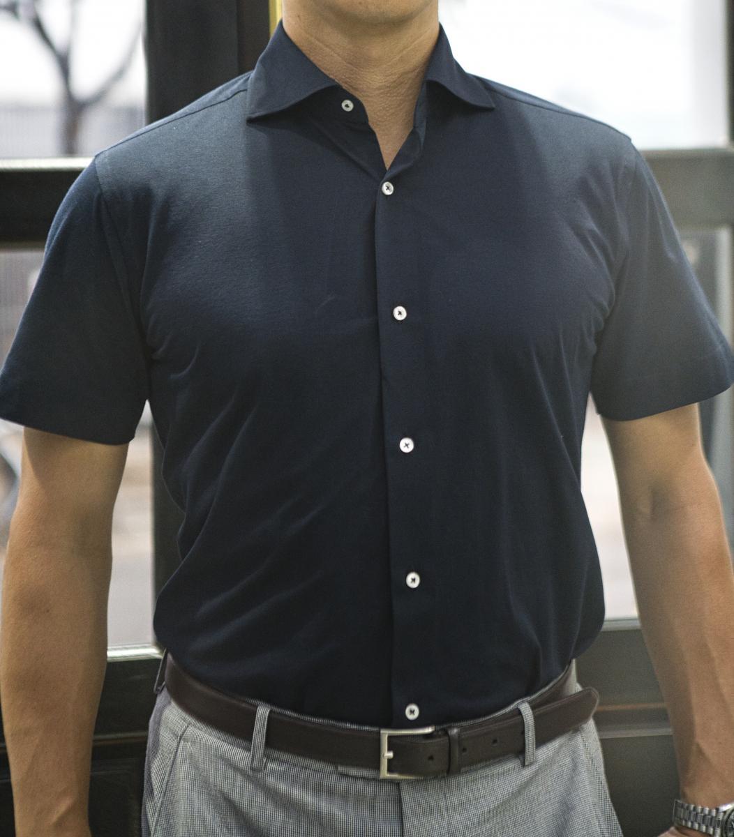 [オーダーシャツ]【Cool Max】この一枚があれば暑い夏も安心!