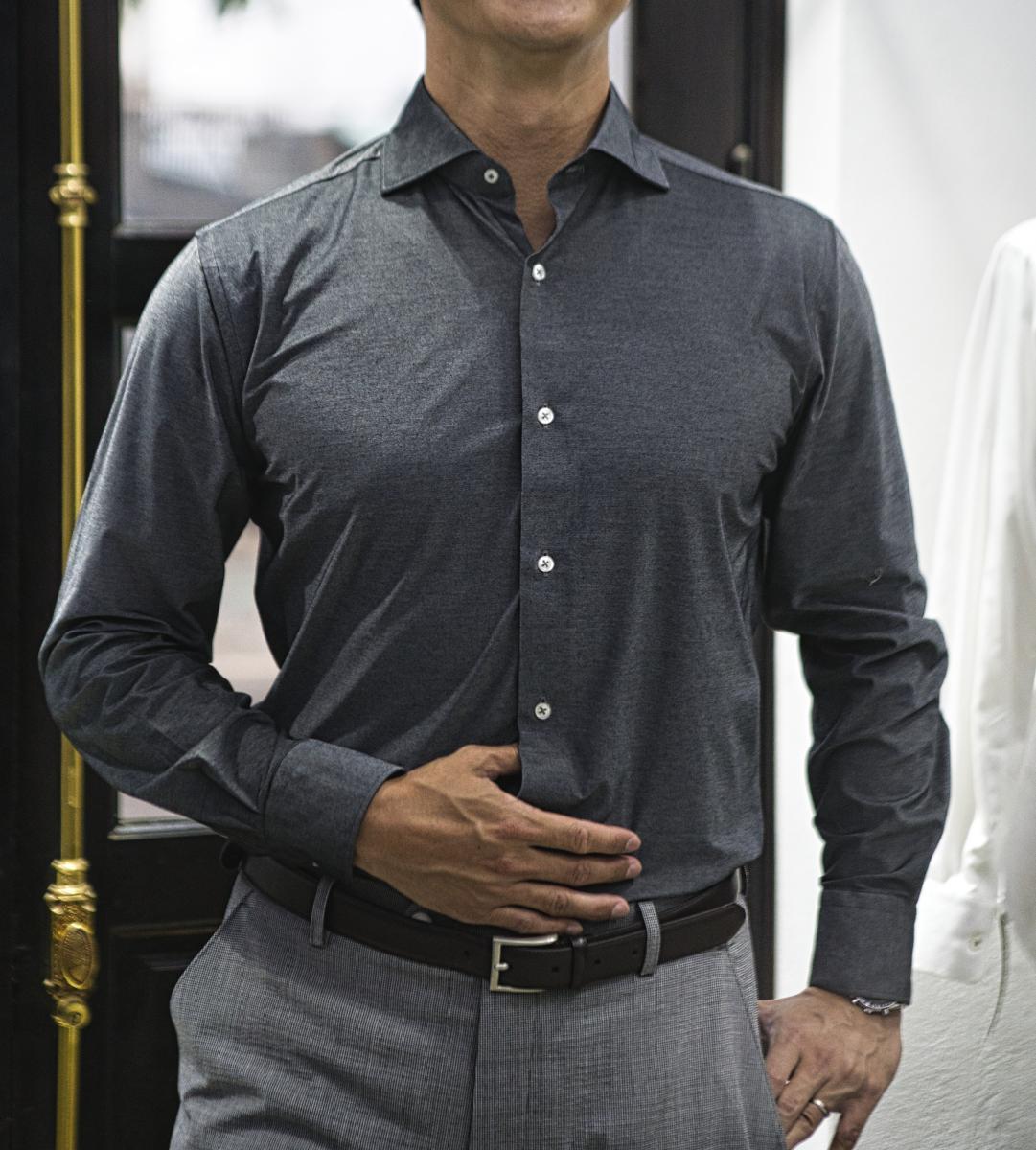 [オーダーシャツ]【Cool Max】吸水速乾に優れ、夏場のビジネスを応援します!