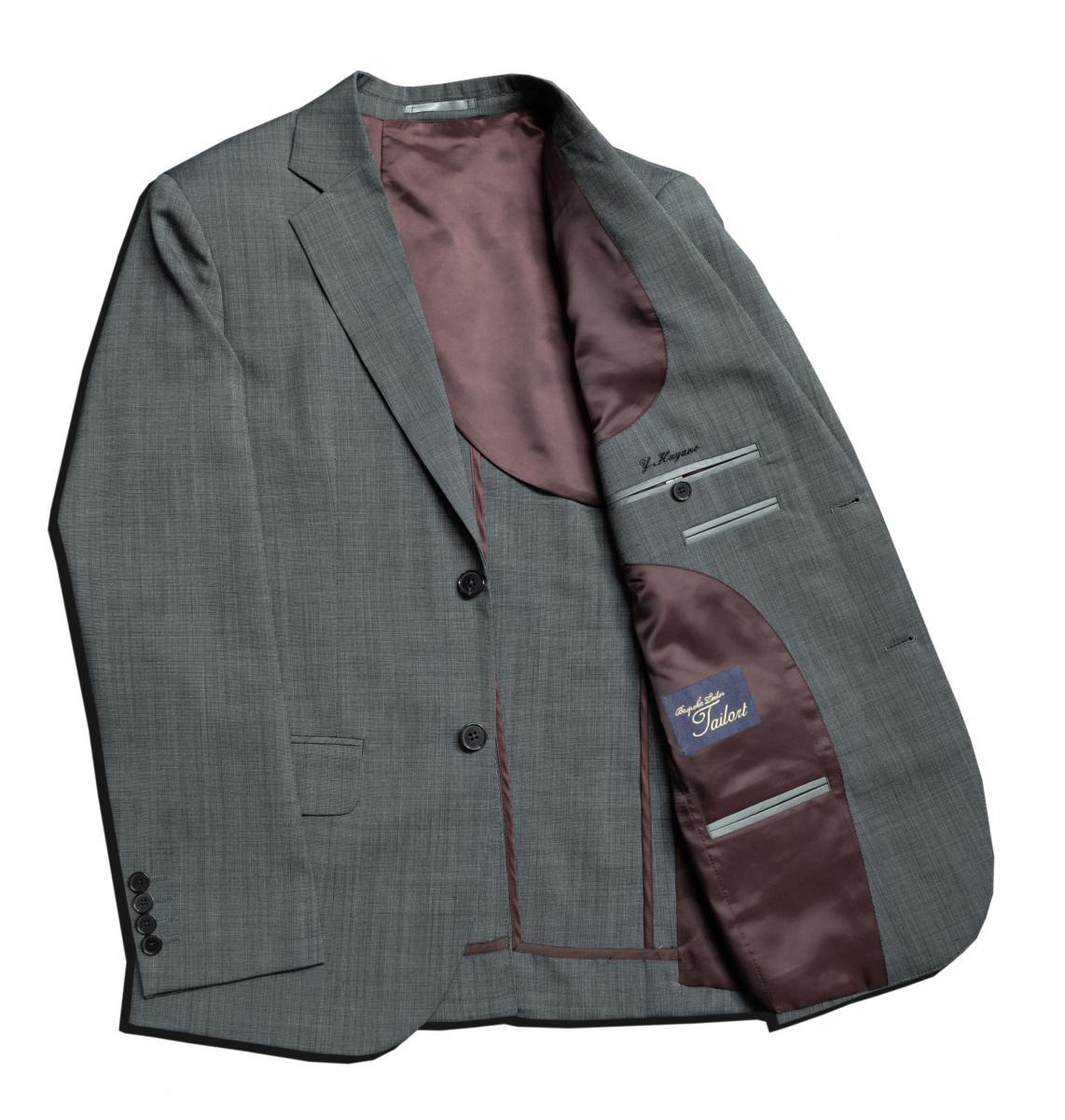 [オーダージャケット]ピンチェック柄でいつもとは少し違う雰囲気を。