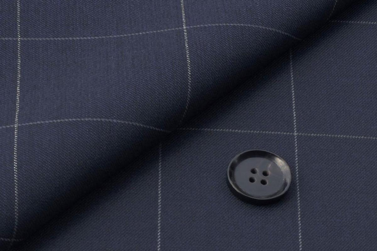 [オーダーパンツ]ストレッチスーツで快適に!幅広チェック柄で存在感を!