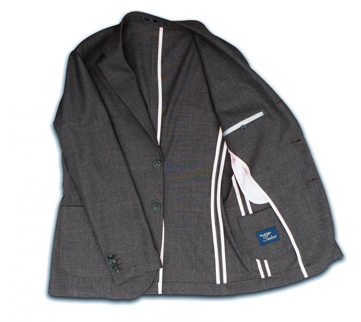 [オーダースーツ]暖かな風合いのブラウンレッド生地で、冬もお洒落に!