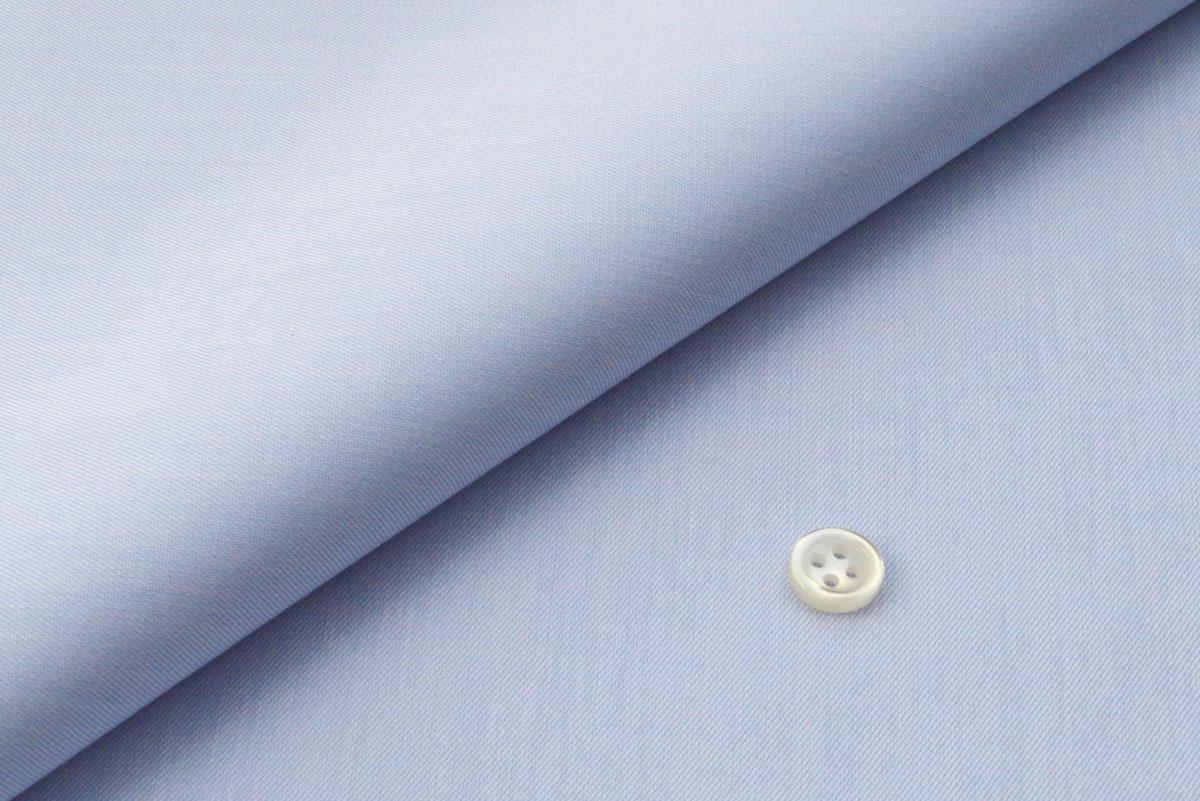 [オーダーシャツ]爽やかブルーで好感度もアップ!