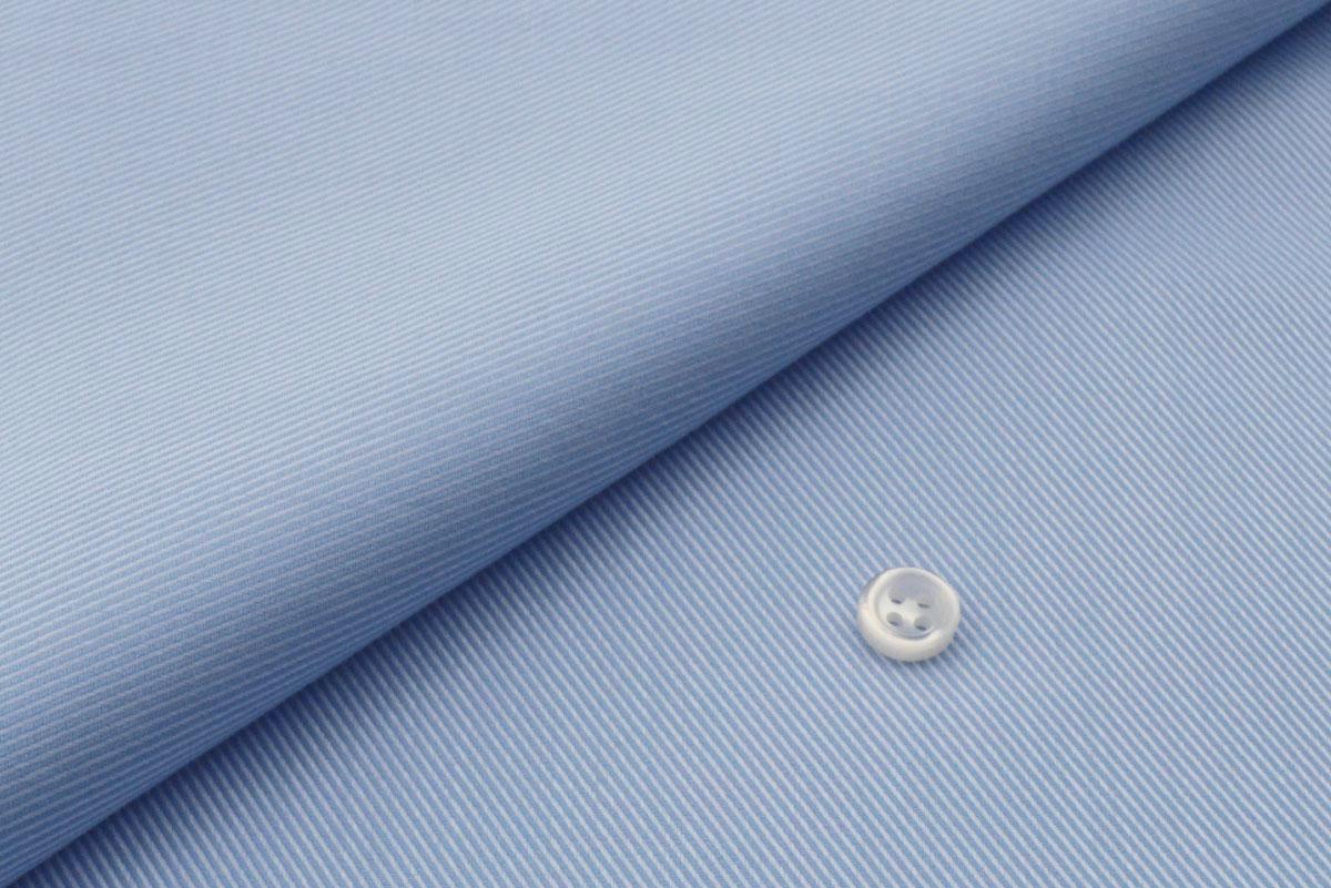 [オーダーシャツ]【形態安定】ブルーで見た目も着心地も爽やかに!
