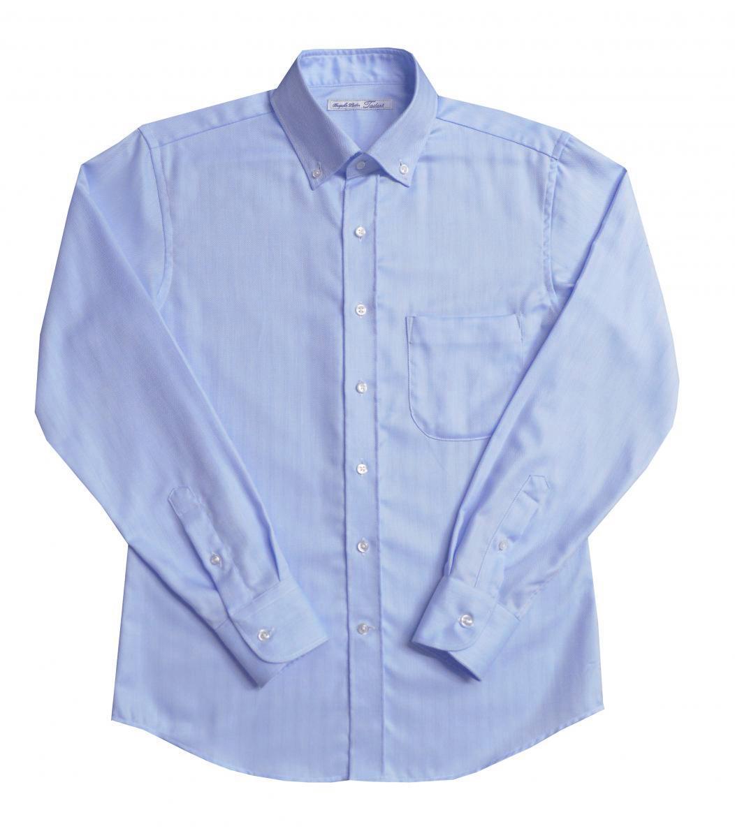 [オーダーシャツ]コットン100%×ヘリンボーン柄で上品に!