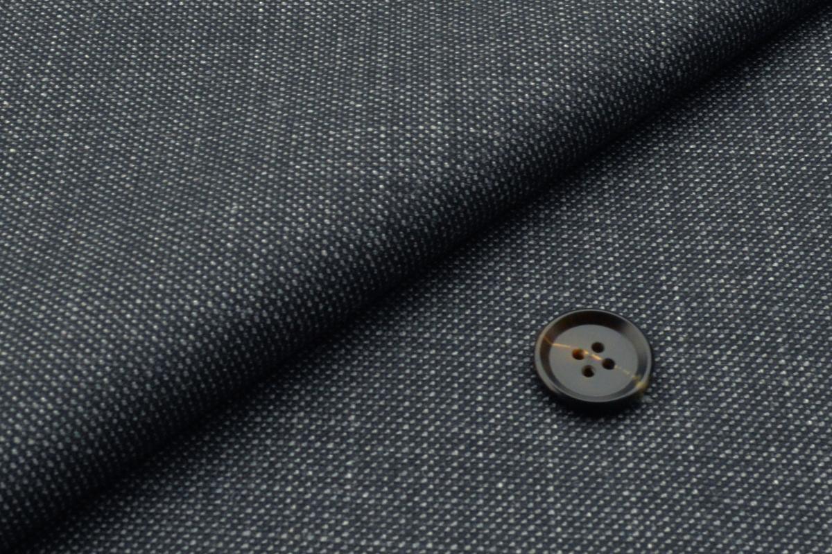 [オーダージャケット]グレー×ピンチェック柄で柔らかい雰囲気を。