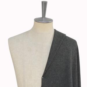[オーダーコート]適度なハリと柔らかい着心地が魅力のグレー