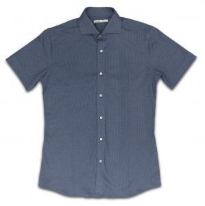 [ビズポロシャツ]ブルーの爽やかさ×ニットの着心地の良さをお届け