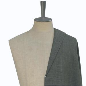 [オーダーレディーススーツ スカートセット]ライトグレー×クールマックスで蒸し暑い夏も爽やかに!