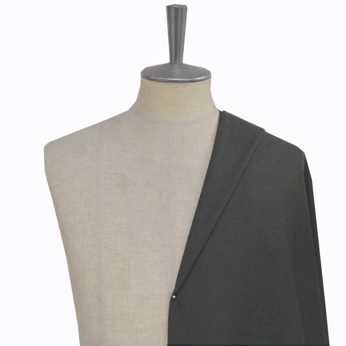 [オーダースーツ]定番グレー×クールマックスで使い勝手の良い一着