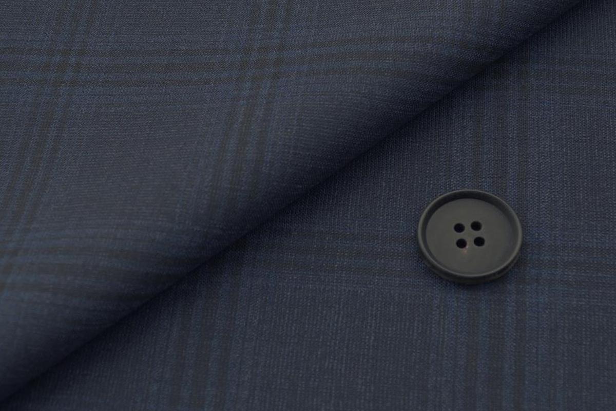 [オーダーレディーススーツ スカートセット]夏場の強い味方クールマックス×洗練された印象のチェック柄