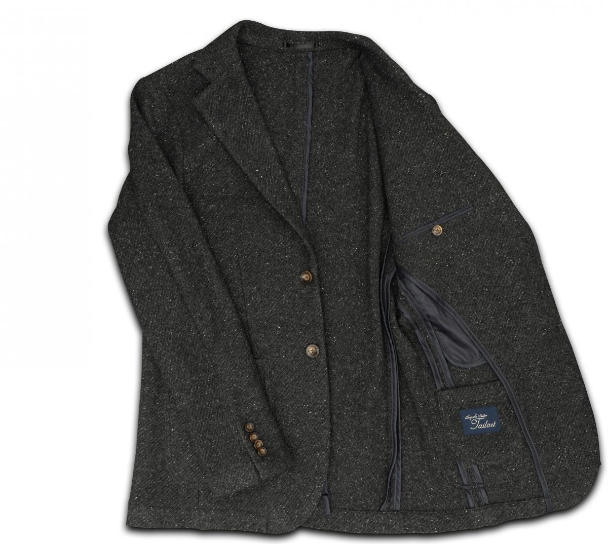 [カジュアルジャケット]暖かい風合いが魅力、この一着があれば冬も安心