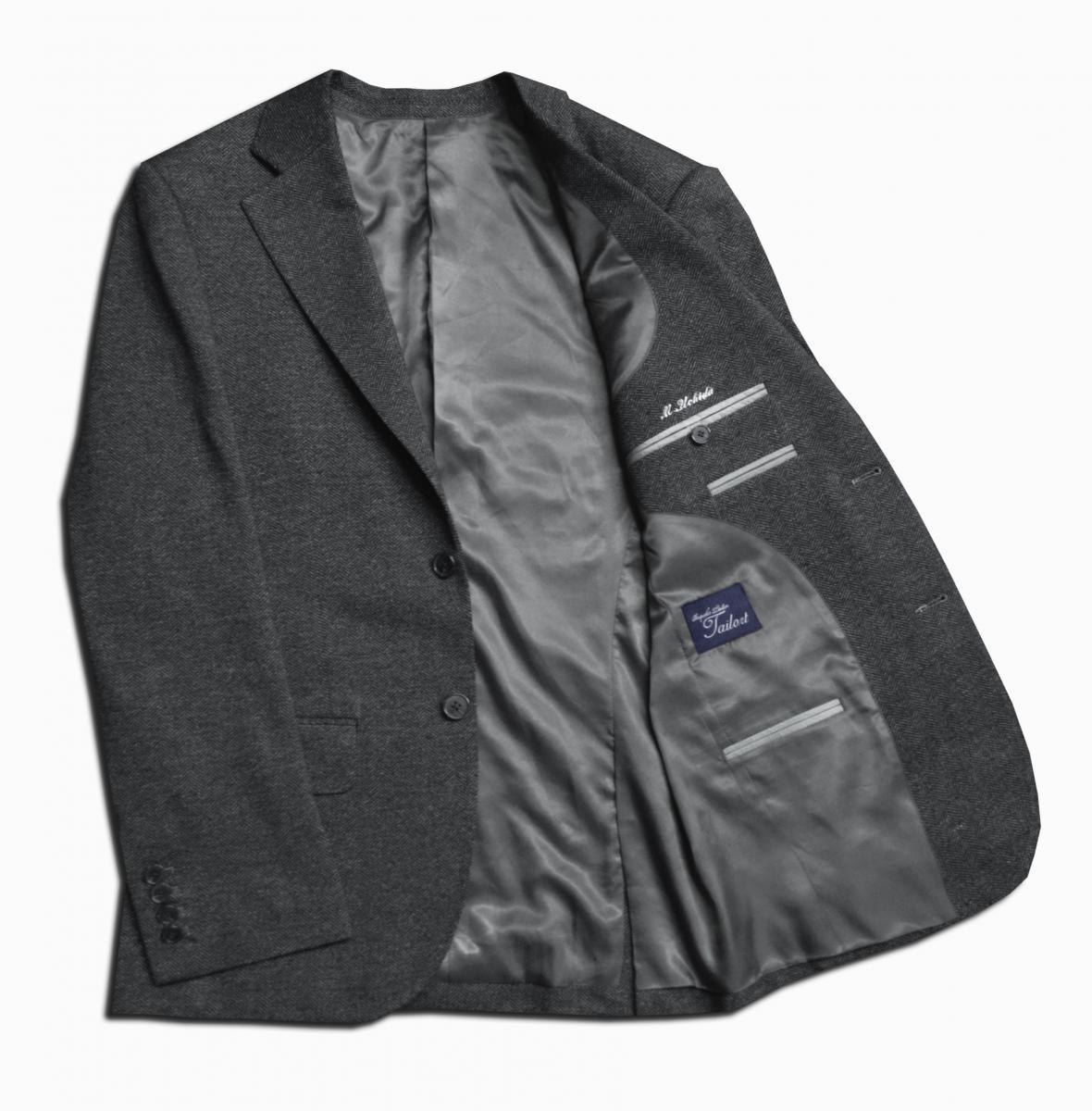 [カジュアルジャケット]ストレッチが効いた柔らかい着心地が魅力の一着!