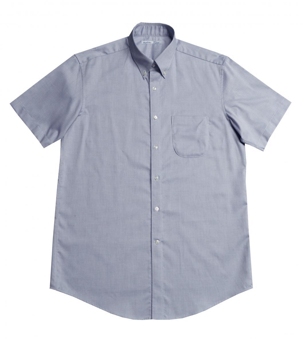 [オーダーシャツ]ネイビー×ドビー生地で高級感と艶感を。