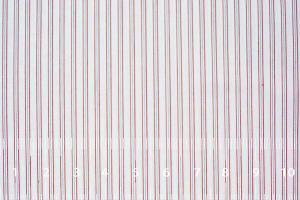 [オーダーシャツ]【ホワイト×レッドストライプ】都会的で洗練された印象を。