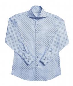 [オーダーシャツ]フラワー柄で可愛くオシャレに
